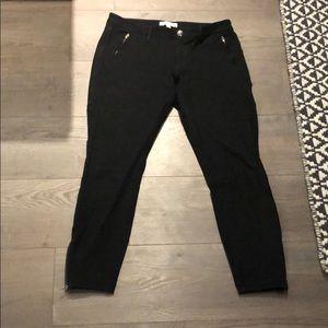 Banana Republic Black Sloan Pant size 6